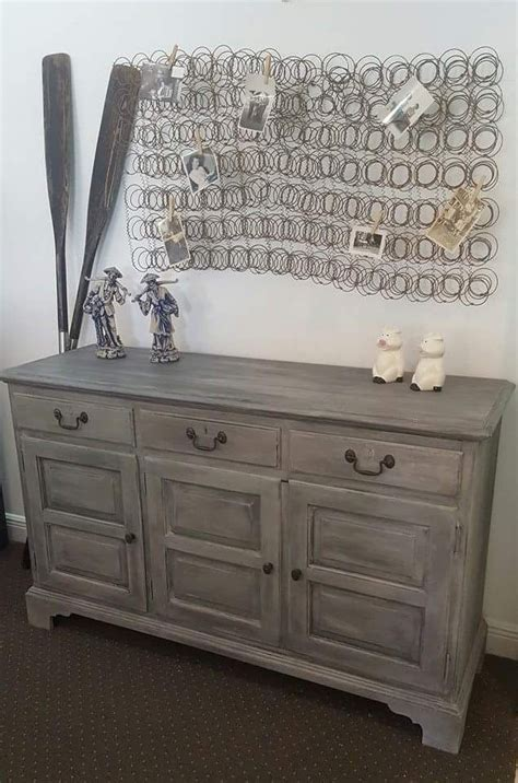 chalk paint gray dresser sloan chalk paint 174 grey graphite and soft wax