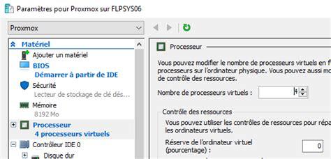 Modification Dans Le Bios by Virtualisation Imbriqu 233 E Sous Windows Serveur 2016