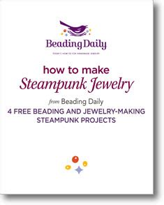 jewelry daily free projects learn how to make steunk jewelry 4 free beading and