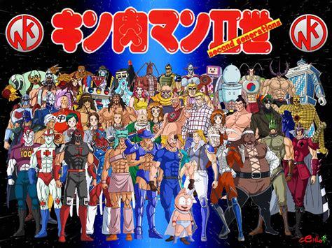 kinnikuman nisei cine anime se m 250 sculo total