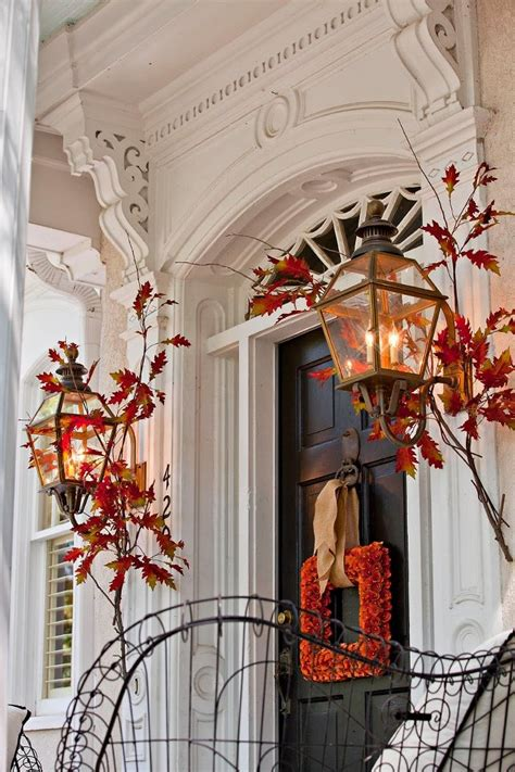 autumn front door decorating ideas 47 and inviting fall front door d 233 cor ideas digsdigs