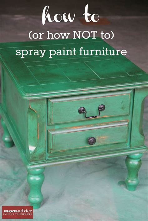 spray painting furniture spray paint for furniture in a can 1 wall decal