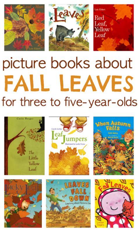 picture books about time 9 books about fall leaves no time for flash cards