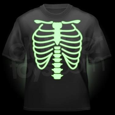glow in the paint shirt glow in the skeleton t shirt