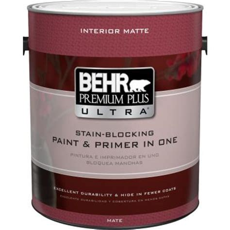 behr exterior paint primer colors behr premium plus ultra 1 gal ultra white matte