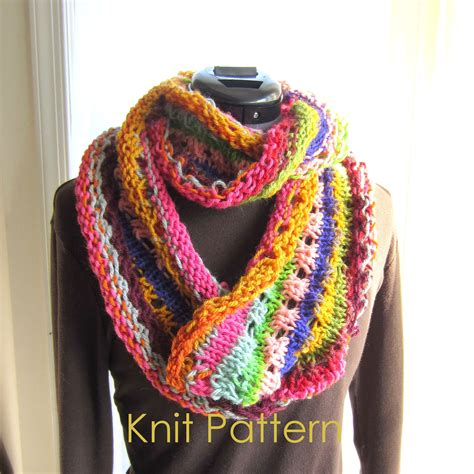 easy infinity scarf knitting pattern easy knit scarf pattern tutorial infinity by