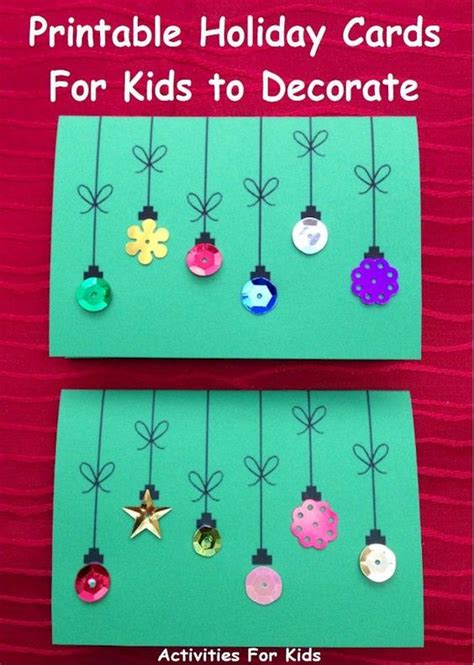 make a printable card cards for to make simple enough for a