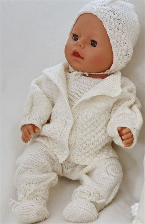 free knitting patterns for 18 inch baby dolls best 25 baby born ideas on diy doll diapers