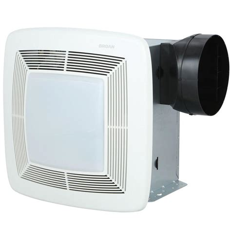 bathroom exhaust fan and light broan qtx series 80 cfm ceiling exhaust bath
