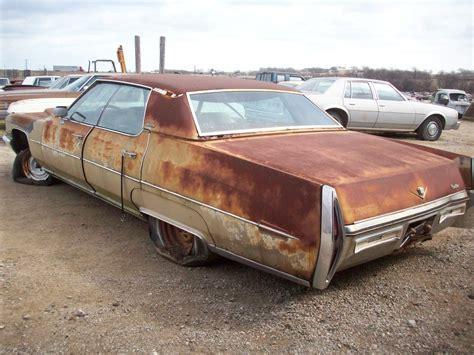 Parts For Cadillac 1972 cadillac sedan parts car