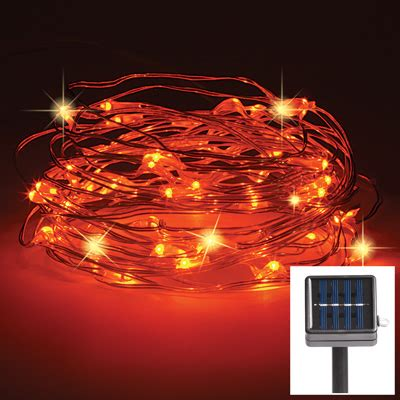 orange solar string lights orange micro solar string light from collections etc