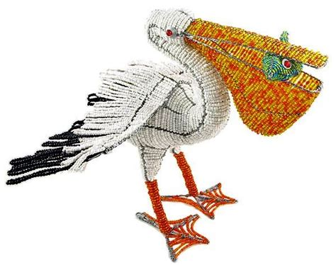 bead and wire animals wow imports beaded wire animal figurine pelican