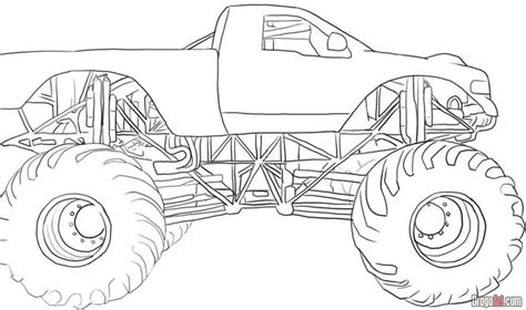 monster trucks pictures printable crafts