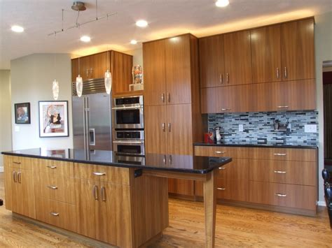 contemporary cabinets teak kitchen cabinets kitchen modern with cherry wood