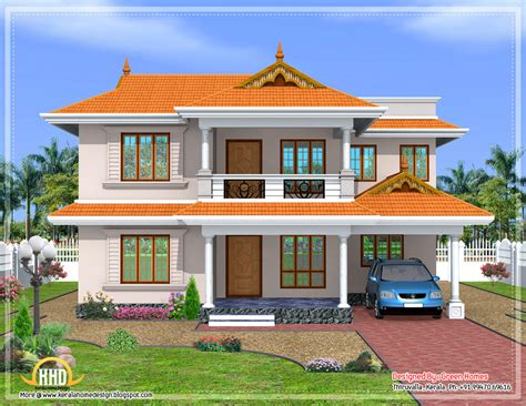 house plans green kerala style sloped roof house design green homes thiruvalla architecture plans 79243