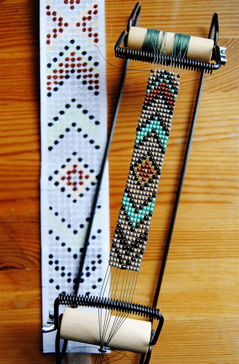 diy bead loom loom beading diy american belt with