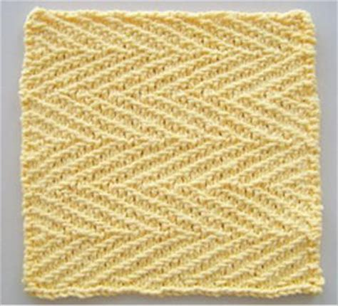 herringbone knit pattern herringbone linen knit dishcloth pattern allfreeknitting