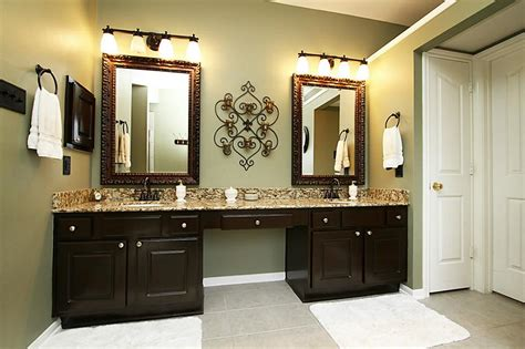 twin oil rubbed bronze mirrors bathroom doherty house