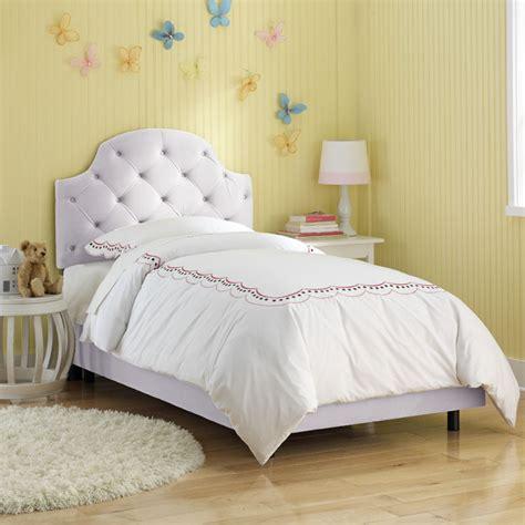 tufted headboard bed upholstered headboard cool cribs