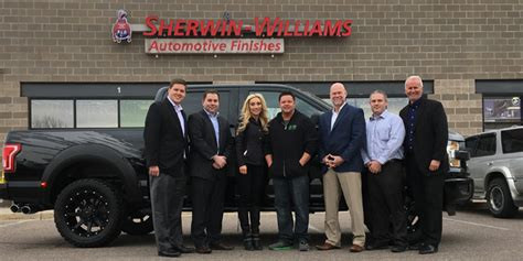 sherwin williams paint store grand rapids mi sherwin williams automotive finishes celebrates 150th