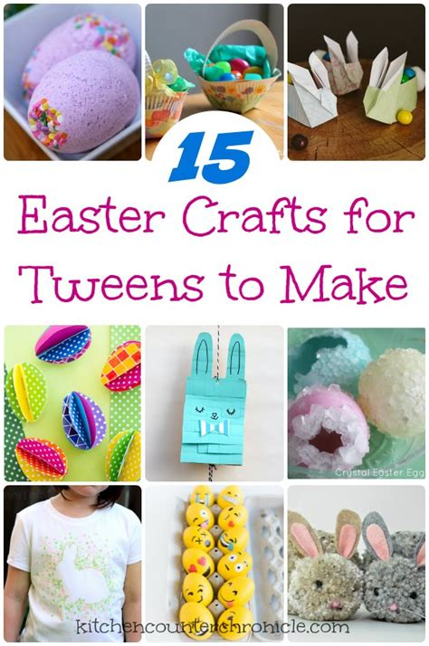 crafts for tweens 15 awesome easter crafts for tweens to make