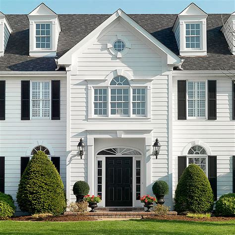 houses rear classic home with colonial home 1 home inspiration sources