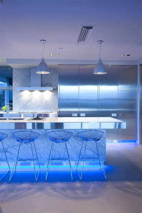 led lights for kitchen 17 light filled modern kitchens by mal corboy