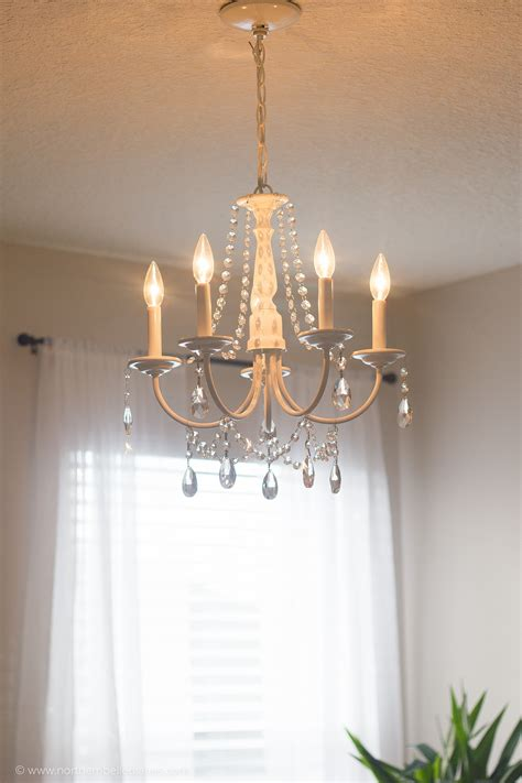 how to make a chandelier out of diy chandelier easy tutorial