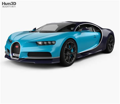 Bugatti Chiron Model Car by Bugatti Chiron 2017 3d Model Hum3d