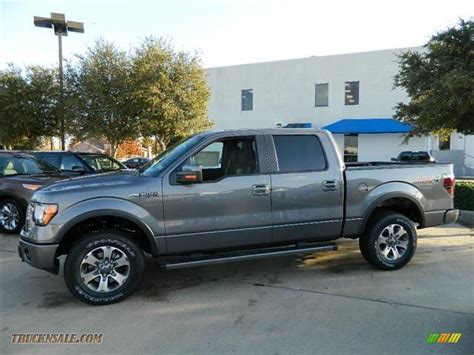 2012 Ford F150 Fx4 by 2012 Ford F150 Fx4 Supercrew 4x4 In Sterling Gray Metallic