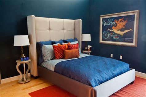 bedroom design blue blue bedroom