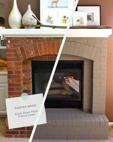 diy chalk paint fireplace 5 dramatic fireplace remodels from around the web