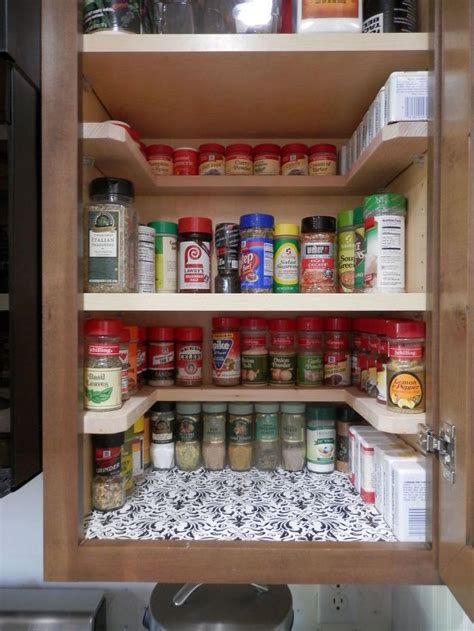 kitchen cabinet organization ideas diy spicy shelf organizer hometalk