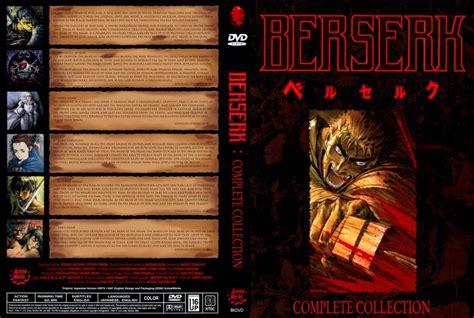 berserk collection berserk complete collection dvd custom covers