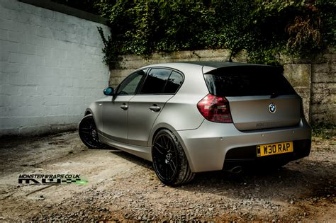 Bmw 3m by Bmw E87 1 Series Car Wrap 3m 1080 Matte Grey Aluminium