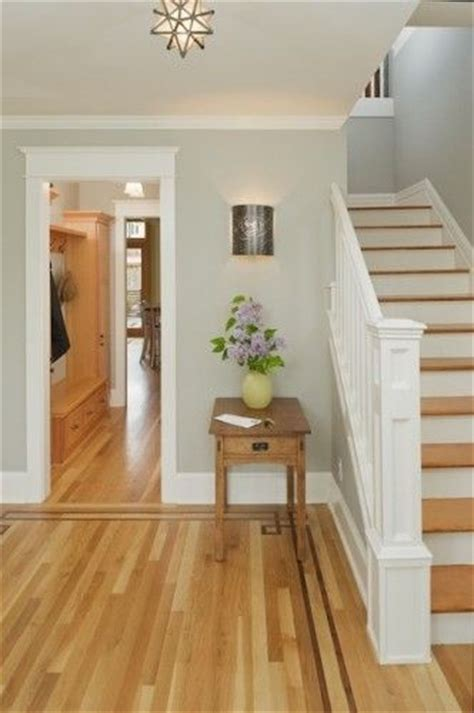 paint colors that go with oak floors lovely entry with light grey walls white trim medium