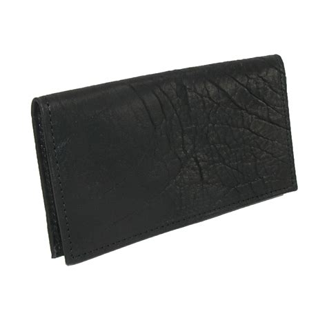leather checkbook covers for textured bison leather checkbook cover by boston leather checkbook covers s wallets at