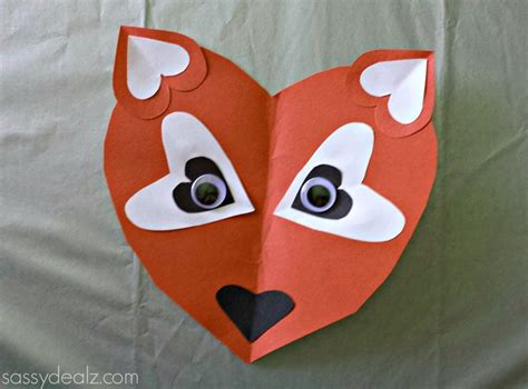 fox crafts for paper fox craft for