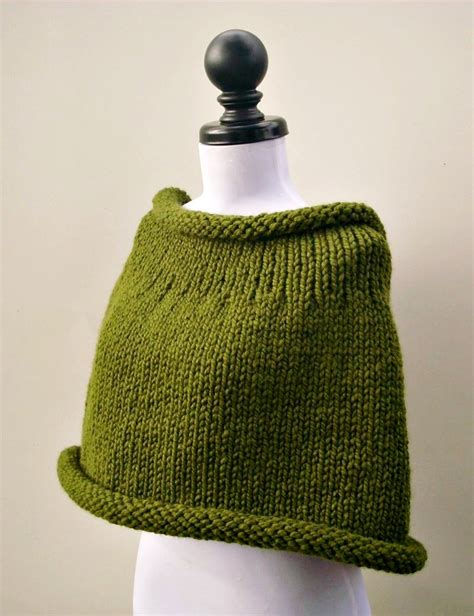 capelet knitting patterns instant knitting pattern pdf knit capelet