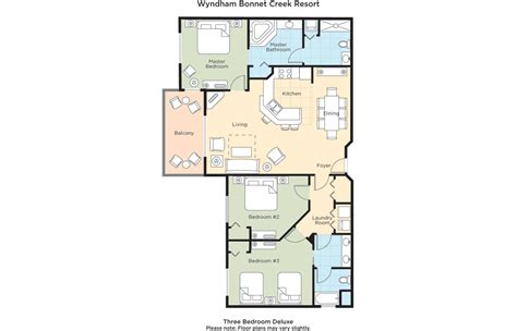 Wyndham Bonnet Creek 3 Bedroom Deluxe by Club Wyndham Wyndham Bonnet Creek Resort
