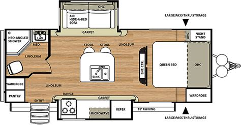 salem travel trailer floor plans hemisphere travel trailer by forest river