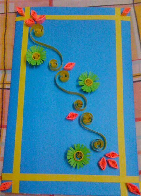 how to make eid cards at home paper quilling card
