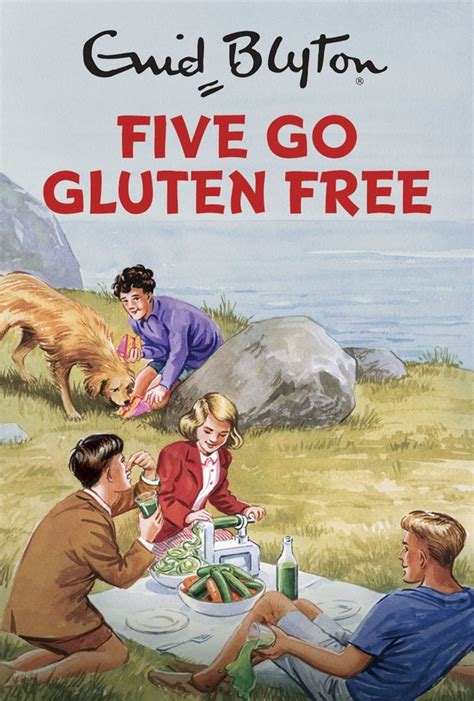 adults picture books enid blyton for grown ups five to be spoofed in