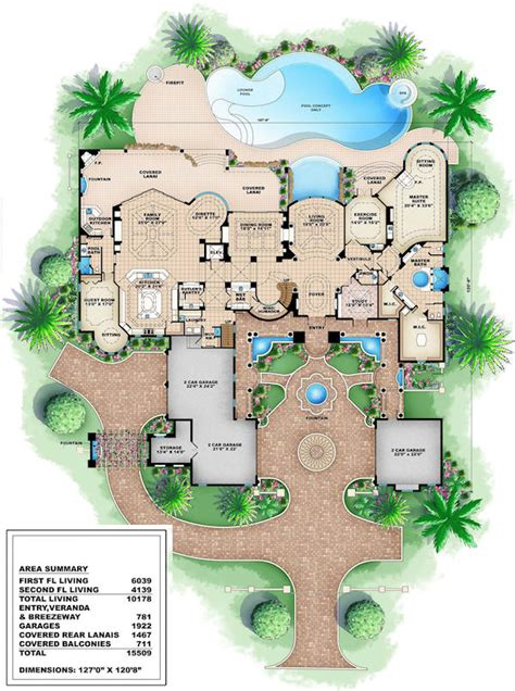 luxery home plans house plans luxury house plans