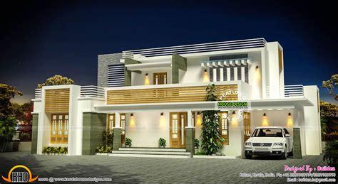 modern home design flat roof modern house