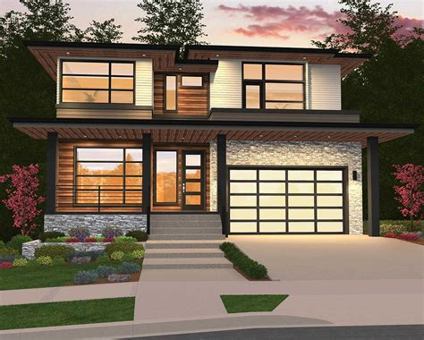 homes with 2 master suites modern home plan with 2 master suites 85148ms