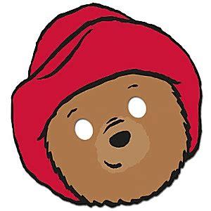 paddington bear mask