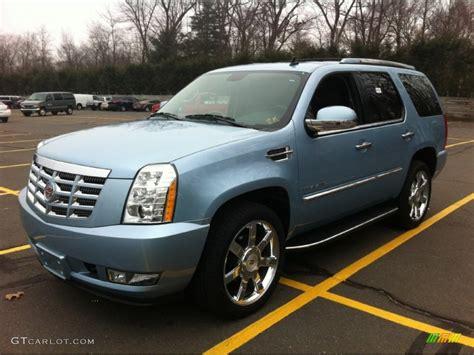 Cadillac Escalade Blue by 2011 Celestial Blue Metallic Cadillac Escalade Luxury Awd