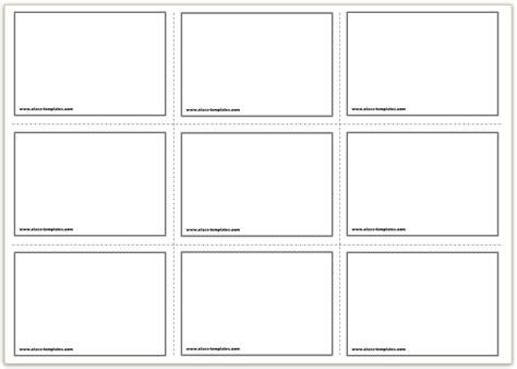 make flash cards printable free printable flash cards template