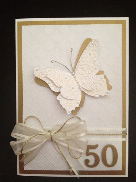anniversary card ideas best 25 50th anniversary cards ideas on